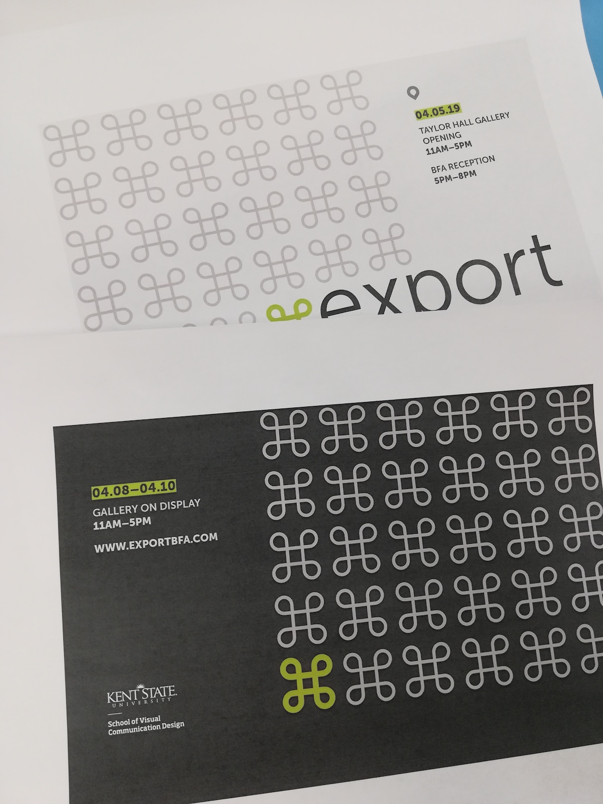 Export postcards